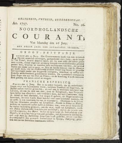 Noordhollandsche Courant 1797-06-26
