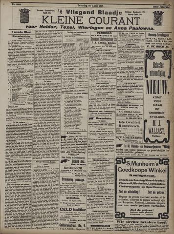 Vliegend blaadje : nieuws- en advertentiebode voor Den Helder 1907-04-24