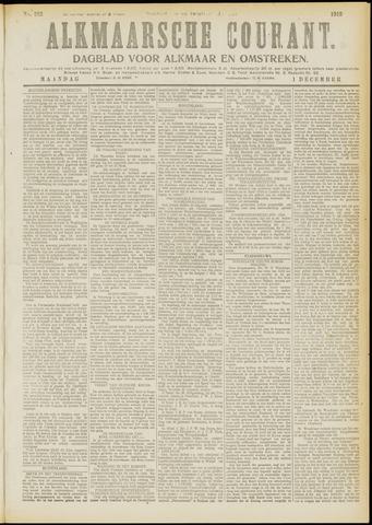 Alkmaarsche Courant 1919-12-01
