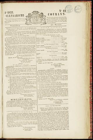 Alkmaarsche Courant 1853-03-21