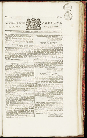 Alkmaarsche Courant 1833-12-30