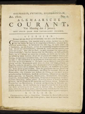 Alkmaarsche Courant 1800-01-06