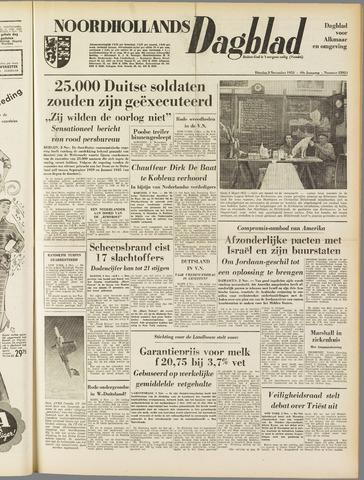 Noordhollands Dagblad : dagblad voor Alkmaar en omgeving 1953-11-03