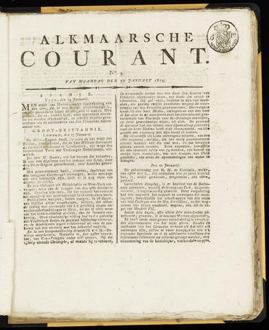 Alkmaarsche Courant 1815-01-30