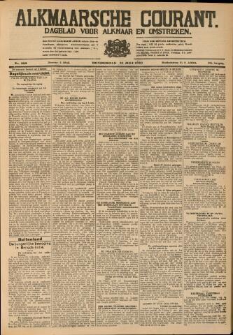 Alkmaarsche Courant 1930-07-10