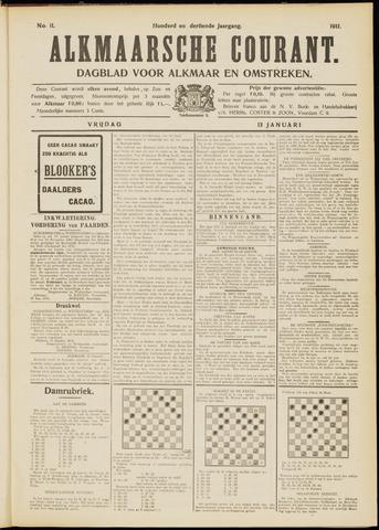 Alkmaarsche Courant 1911-01-13