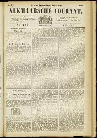 Alkmaarsche Courant 1891-03-06