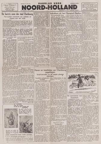 Dagblad Noord-Holland, Schager editie 1944-06-27