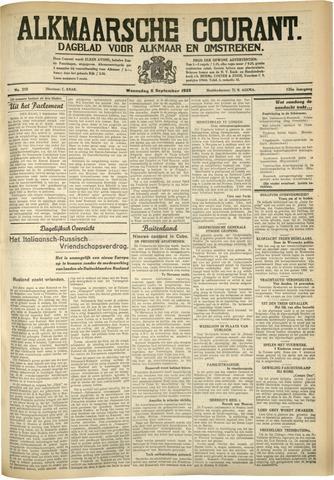 Alkmaarsche Courant 1933-09-06