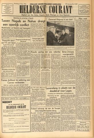 Heldersche Courant 1952-09-25