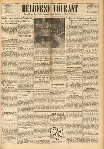 Heldersche Courant 1949-04-13