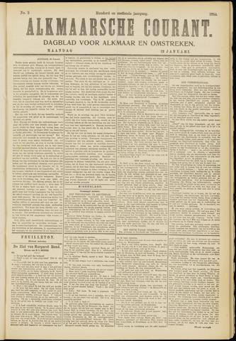 Alkmaarsche Courant 1914-01-12