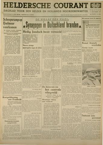 Heldersche Courant 1938-11-11
