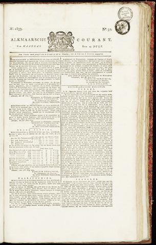 Alkmaarsche Courant 1833-07-29