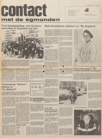 Contact met de Egmonden 1980-01-03