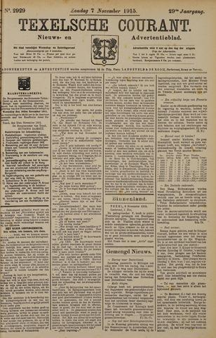 Texelsche Courant 1915-11-07
