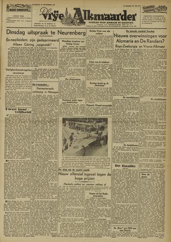 De Vrije Alkmaarder 1946-09-28