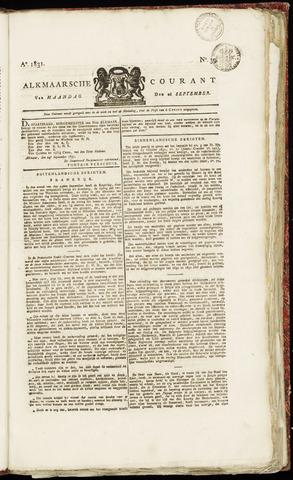 Alkmaarsche Courant 1831-09-26