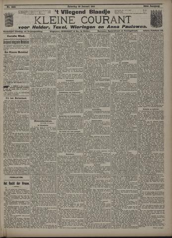 Vliegend blaadje : nieuws- en advertentiebode voor Den Helder 1910-01-22