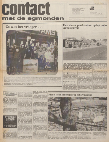 Contact met de Egmonden 1980-05-14