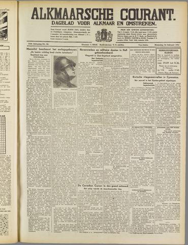 Alkmaarsche Courant 1941-02-24