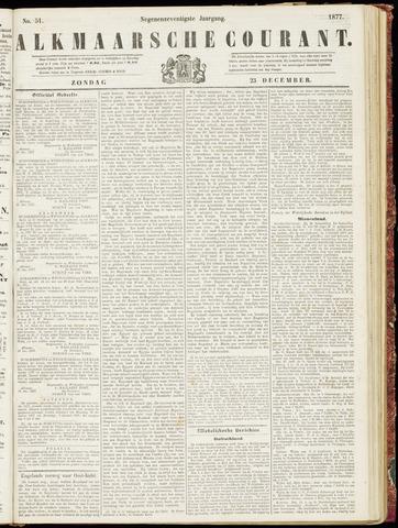 Alkmaarsche Courant 1877-12-23
