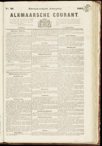 Alkmaarsche Courant 1865-09-03