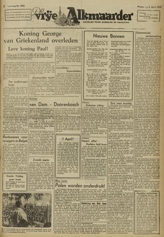 De Vrije Alkmaarder 1947-04-02