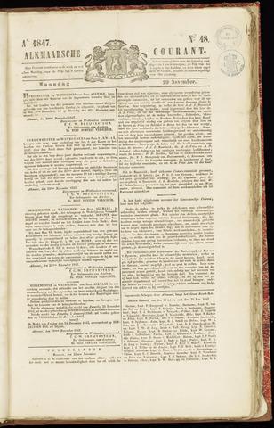 Alkmaarsche Courant 1847-11-29
