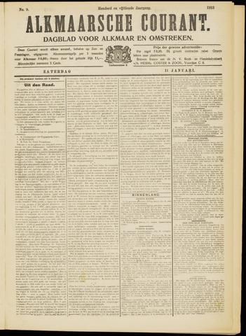 Alkmaarsche Courant 1913-01-11