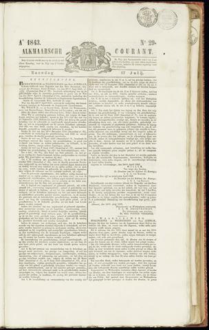 Alkmaarsche Courant 1843-07-17