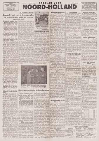 Dagblad Noord-Holland, Schager editie 1943-11-29