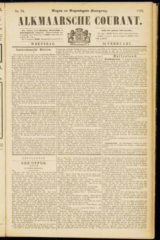 Alkmaarsche Courant 1897-02-24