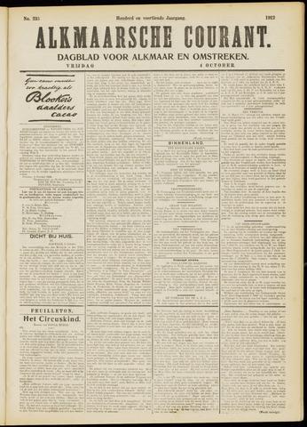 Alkmaarsche Courant 1912-10-04
