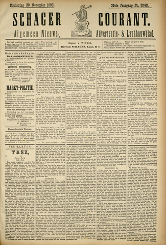 Schager Courant 1895-11-28
