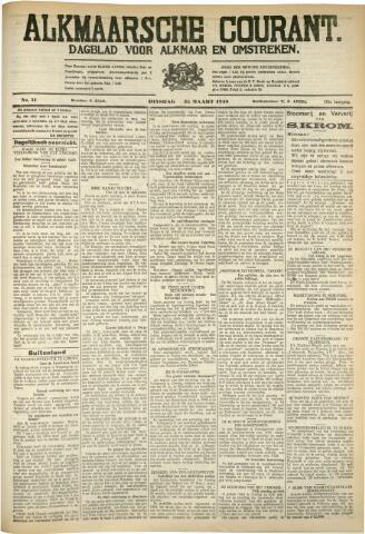Alkmaarsche Courant 1930-03-25