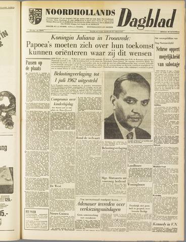 Noordhollands Dagblad : dagblad voor Alkmaar en omgeving 1961-09-19