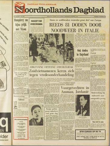 Noordhollands Dagblad : dagblad voor Alkmaar en omgeving 1968-11-04