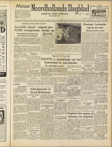Nieuw Noordhollandsch Dagblad : voor Alkmaar en omgeving 1952-08-23