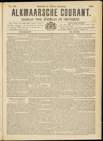 Alkmaarsche Courant 1906-06-12