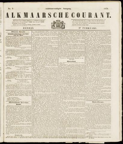 Alkmaarsche Courant 1876-02-27