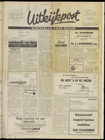 Uitkijkpost : nieuwsblad voor Heiloo e.o. 1972-12-28