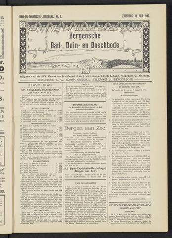 Bergensche bad-, duin- en boschbode 1932-07-30