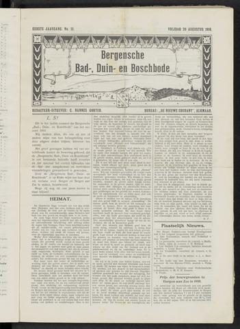 Bergensche bad-, duin- en boschbode 1910-08-26