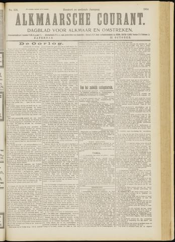 Alkmaarsche Courant 1914-10-31