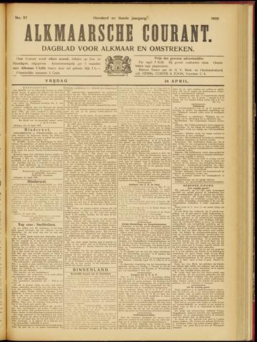 Alkmaarsche Courant 1908-04-24