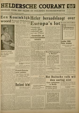 Heldersche Courant 1939-08-29
