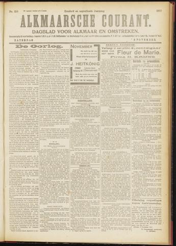 Alkmaarsche Courant 1917-11-03
