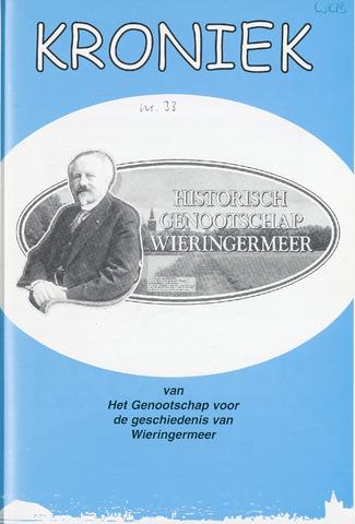 Kroniek Historisch Genootschap Wieringermeer 2002-12-01