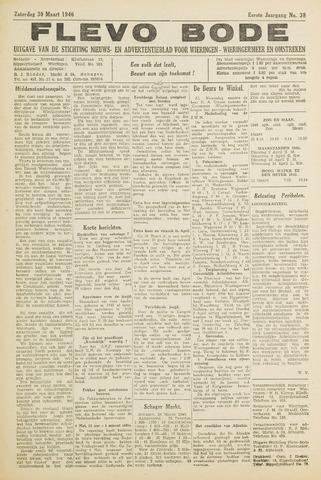 Flevo-bode: nieuwsblad voor Wieringen-Wieringermeer 1946-03-30